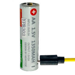 bateria R6 z usb