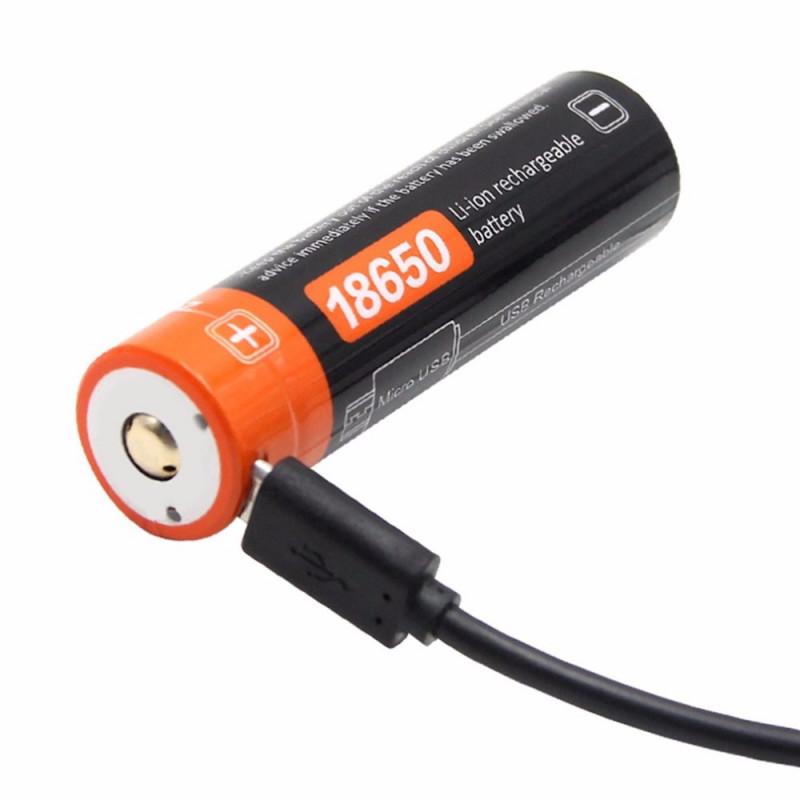 18650 z USB