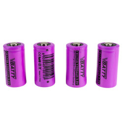 cztery akumulatorki cr123a 3V